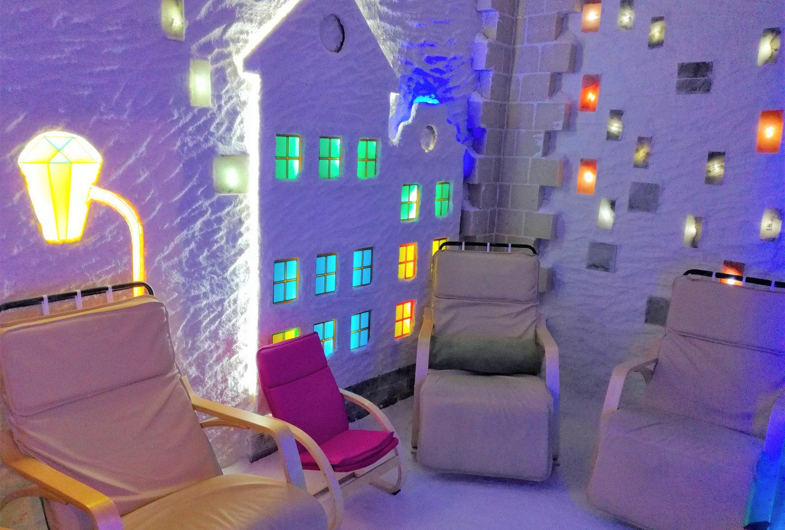 Франчазинг соляных комнат